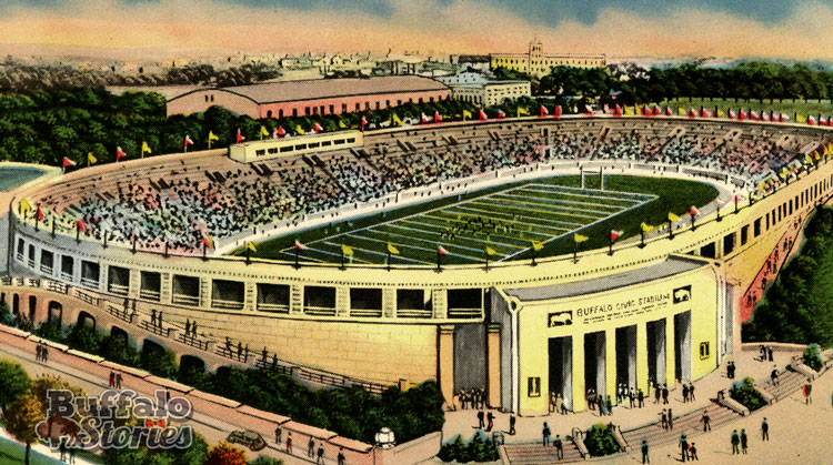 When the Buffalo Bills played at War Memorial Stadium from 1960-1972, fans were allowed to carry in a six-pack of beer with them to enjoy the game.