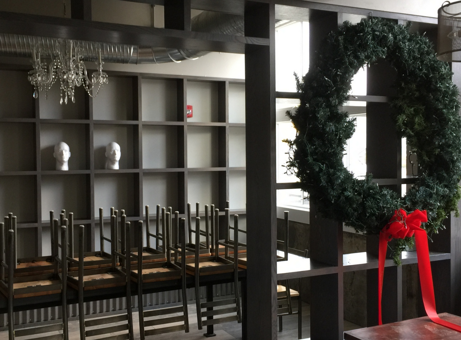 Accomodations at Roost include a semi-private dining room. (Andrew Galarneau/Buffalo News)