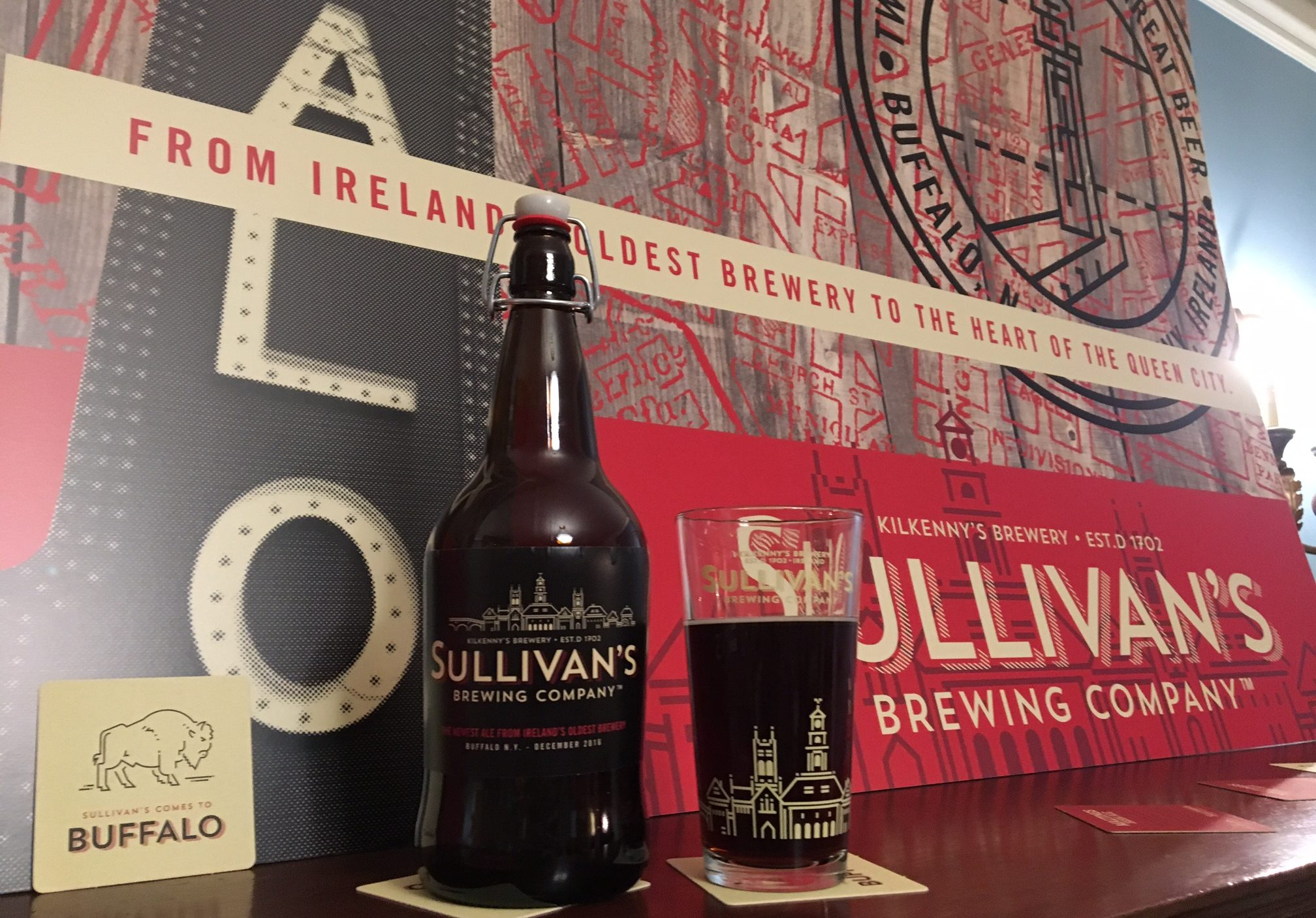 Maltings Irish Ale has arrived in the U.S. from Ireland but you can get it only at a few Buffalo pubs. (Photos by Scott Scanlon)