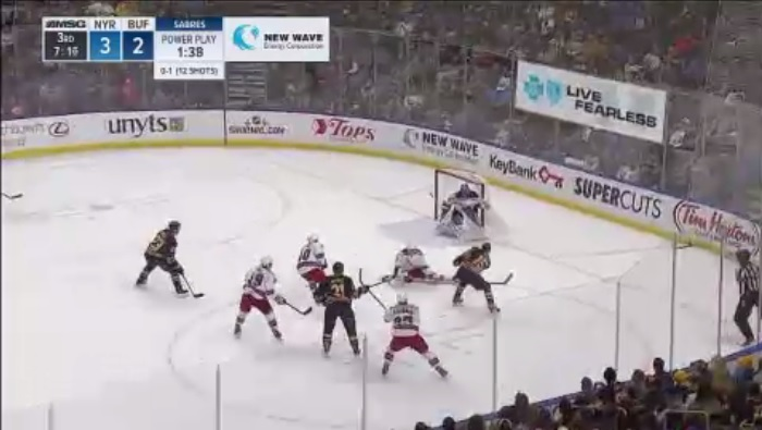 Video: Highlights of Sabres' 4-3 comeback win over the Rangers