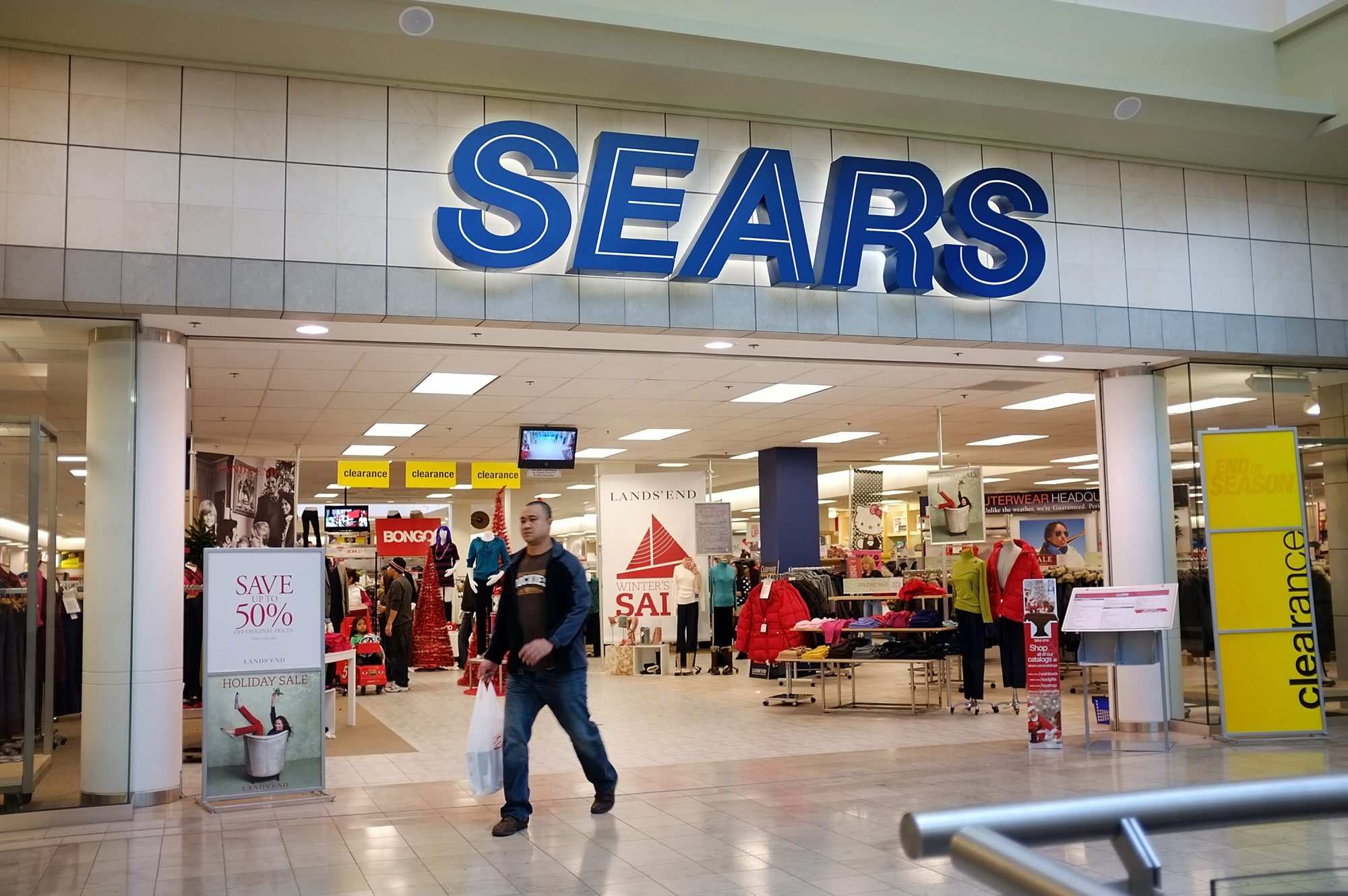 bankrupt sears will close one wny store and three kmarts the