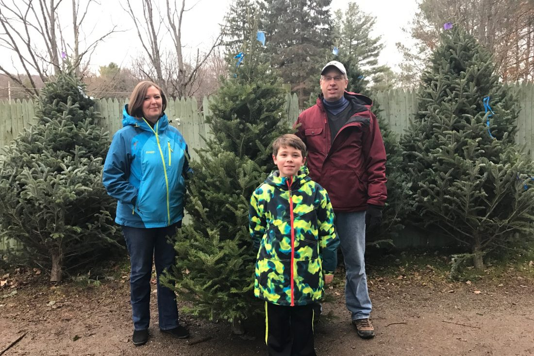 Where to go to cut down your own Christmas tree - The Buffalo News