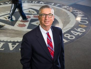 A. Scott Weber, a longtime faculty member and administrator at UB. (photo provided by University at Buffalo)
