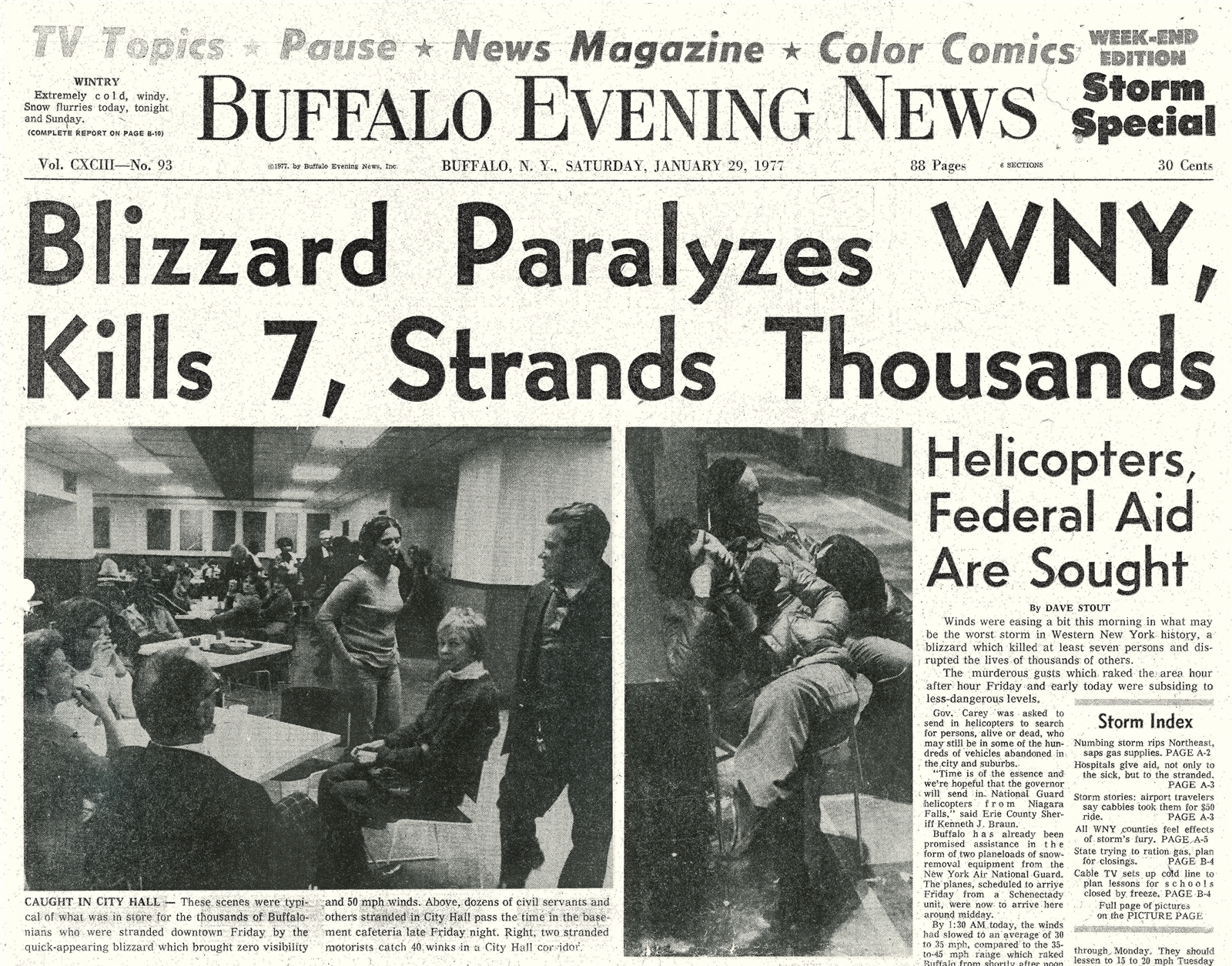 the blizzard of  u201977  buffalo u2019s storm for the ages  u2013 the