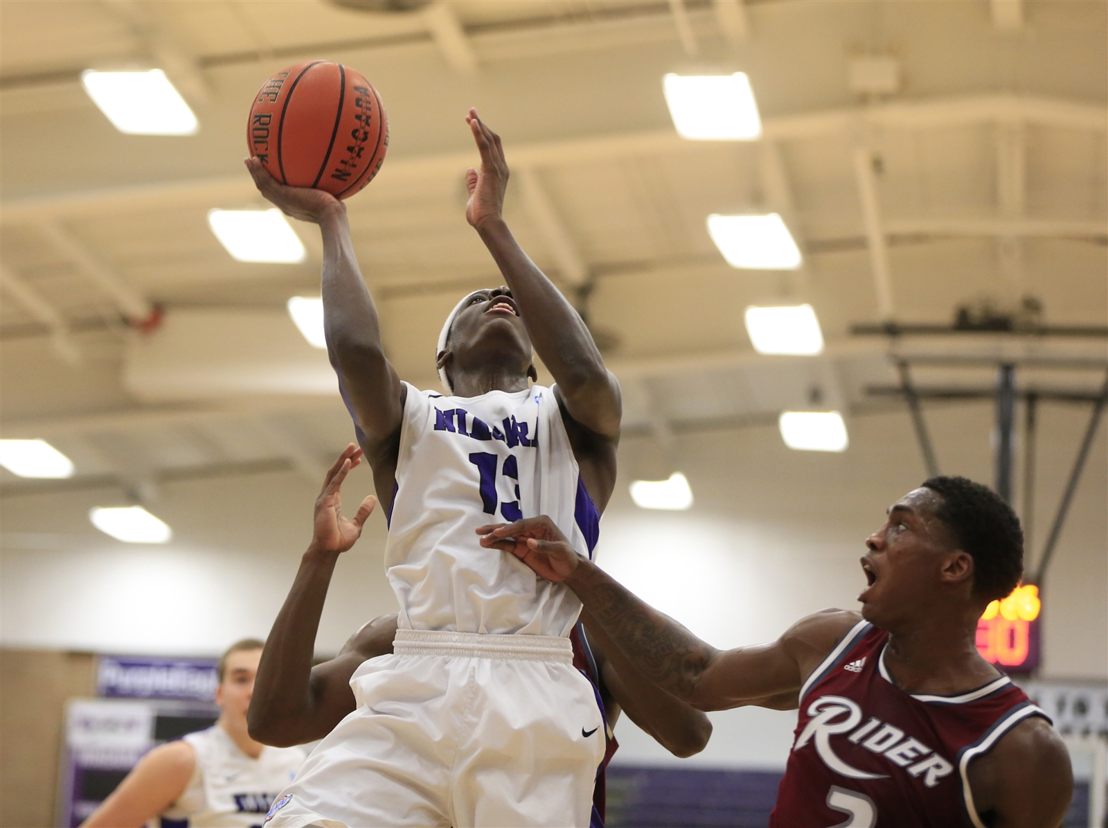 Niagara's Matt Scott is part of a high-scoring guard tandem for the Purple Eagles (Harry Scull Jr./Buffalo News)