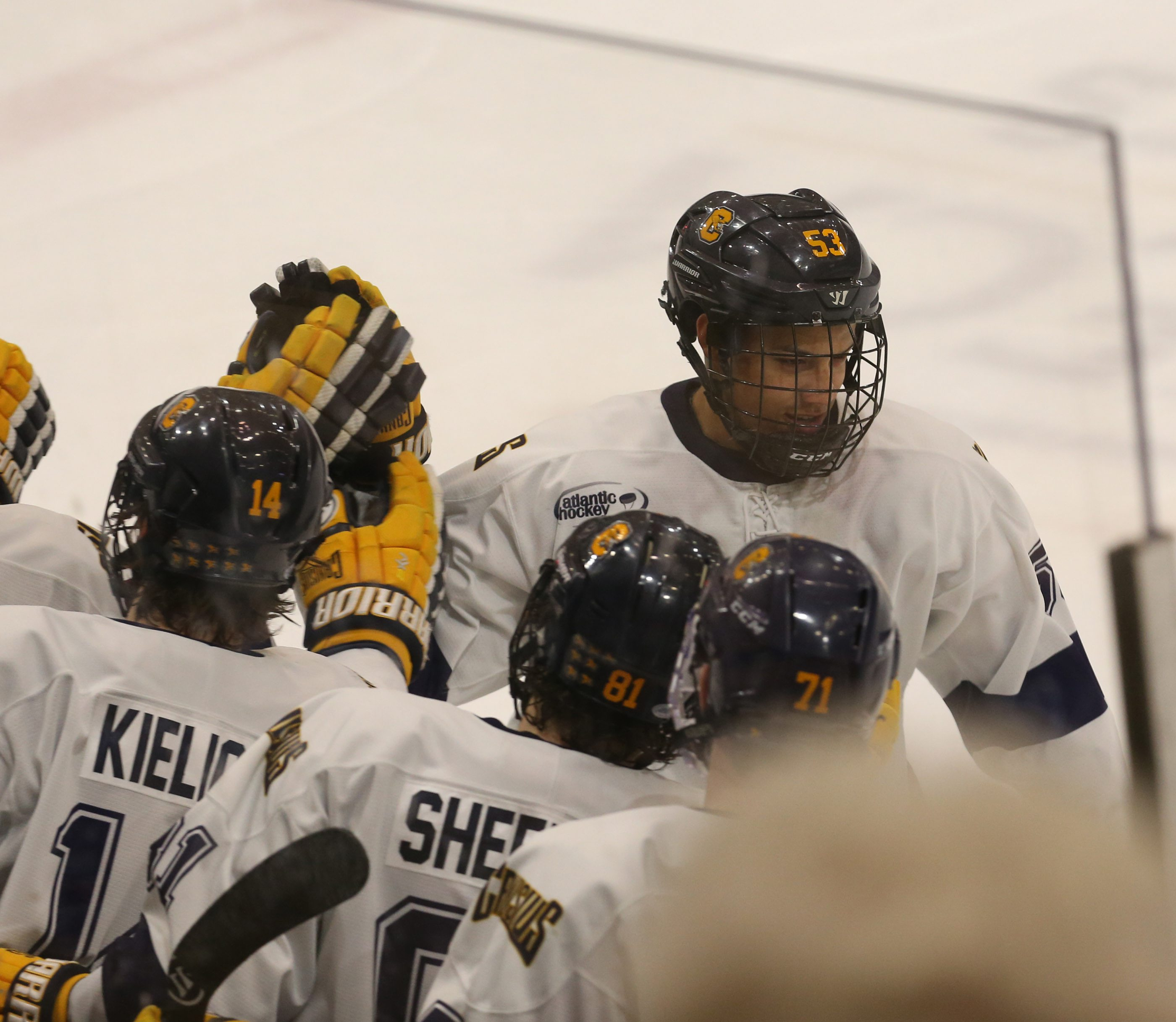 Cameron Heath scored the only goal for Canisius on Saturday. (James P. McCoy/ Buffalo News File Photo)