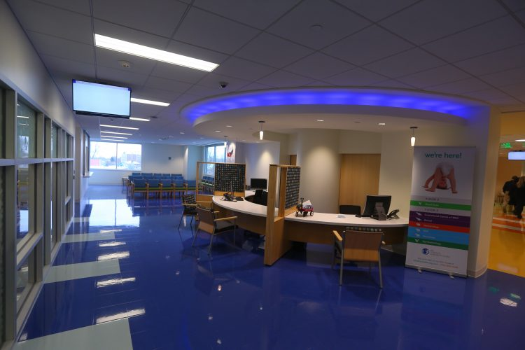 Where to park at the new Oishei Children's Outpatient Center