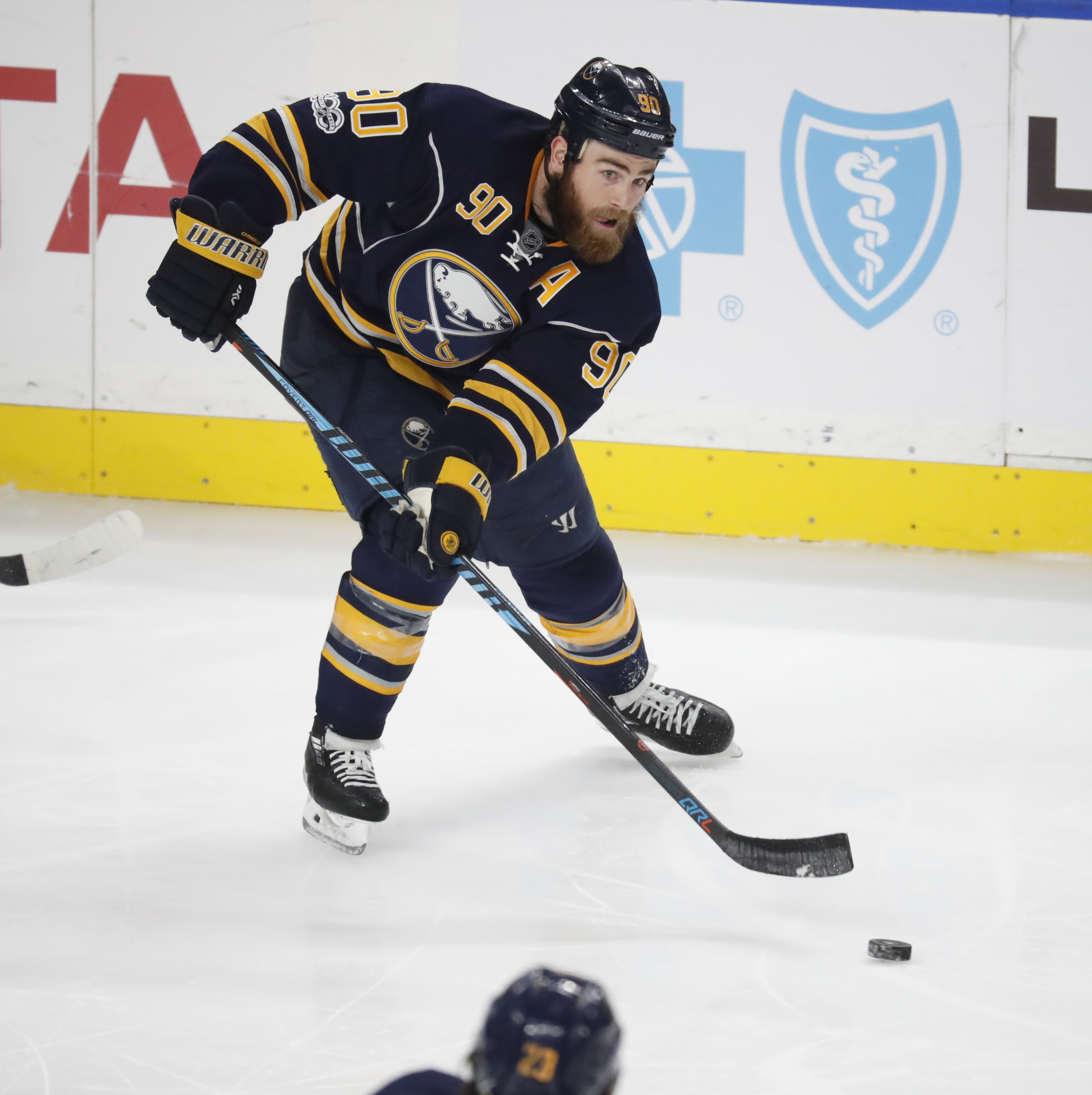 Ryan O'Reilly had his third straight multipoint game Tuesday against Philadelphia. (Harry Scull Jr./Buffalo News)