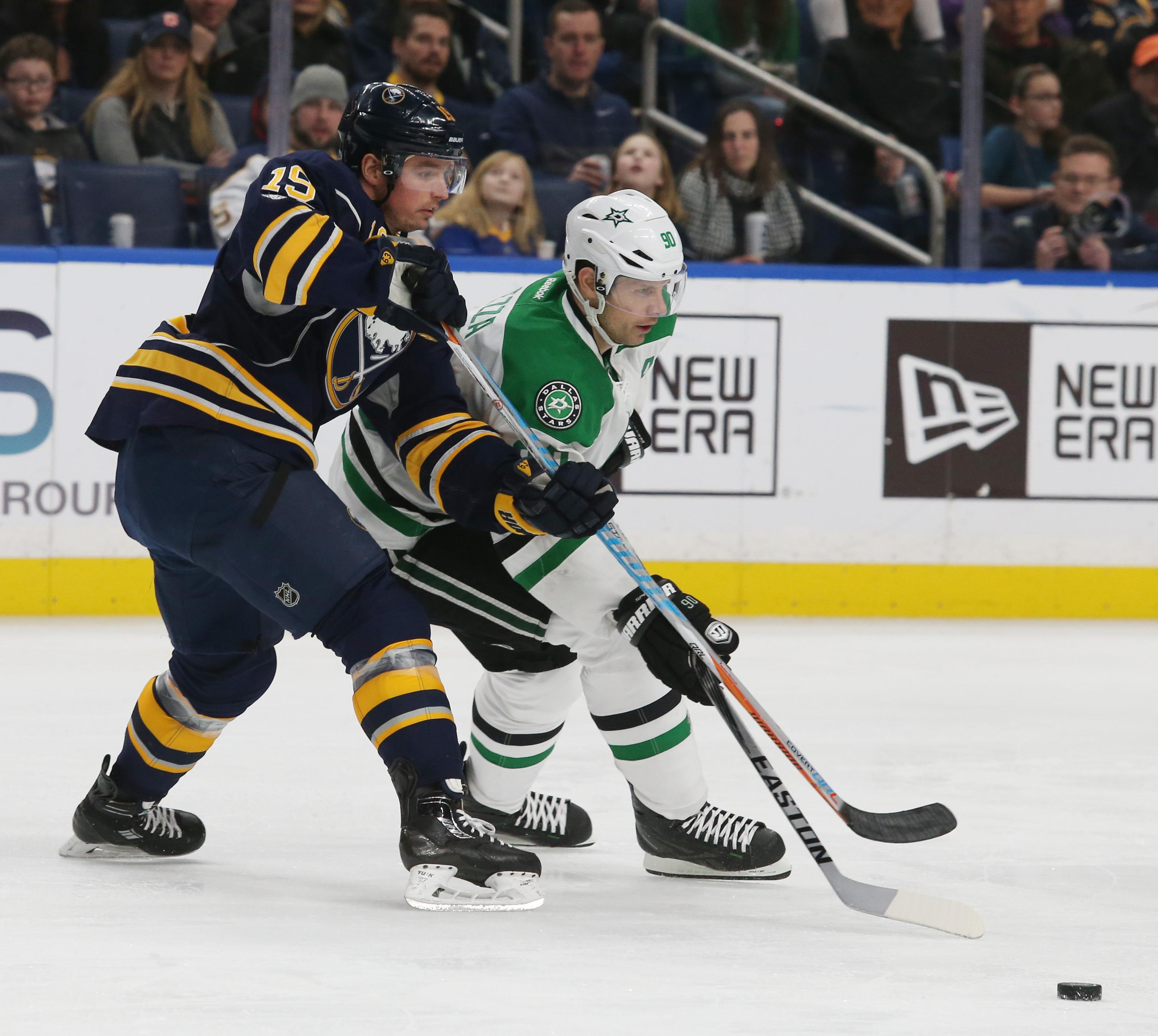 Buffalo Sabres forward Cal O'Reilly cleared waivers on Friday.  (James P. McCoy/Buffalo News)