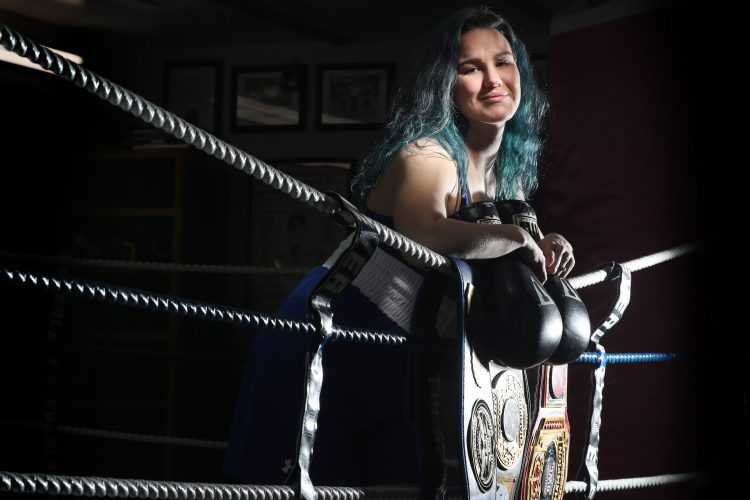 Buffalo teacher is on fast track to Olympics via the boxing ring