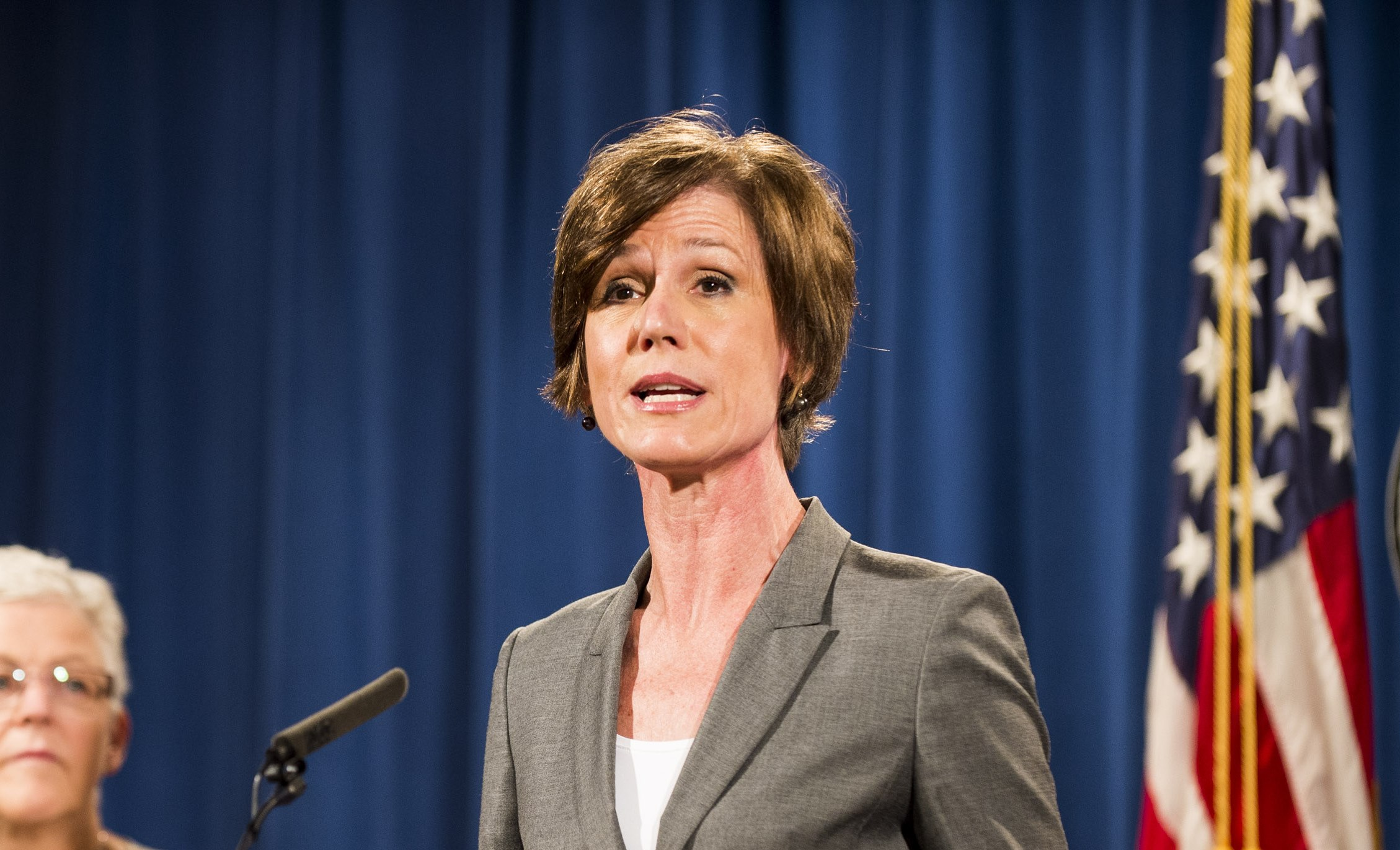 Attorney General Sally Yates was relieved of her duties by the Trump administration. (Getty Images)