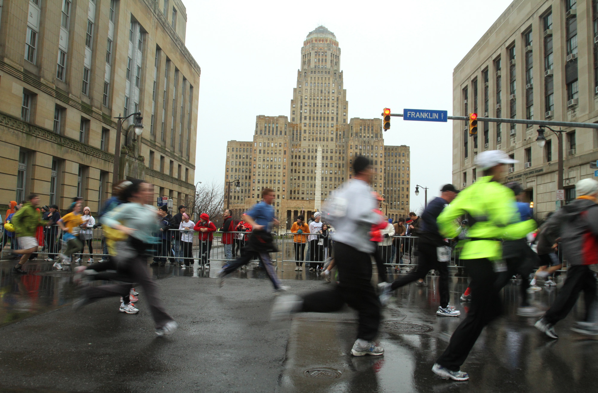 Says one runner: 'Had I known how many people would be there for me (cheering me, pacing me, helping me), I would have started my journey years ago.' {John Hickey/Buffalo News}
