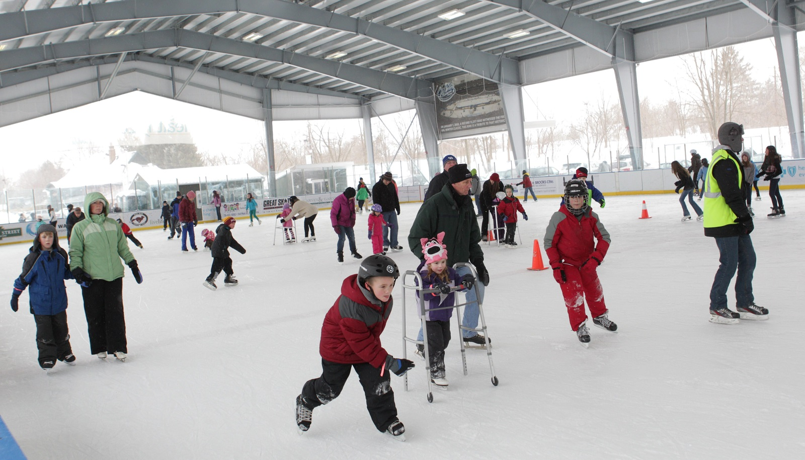 The Healthy Zone Rink in East Aurora will host a special Friday afternoon skate this week, the last week it will host public skating sessions this winter season. (Sharon Cantillon/News file photo)