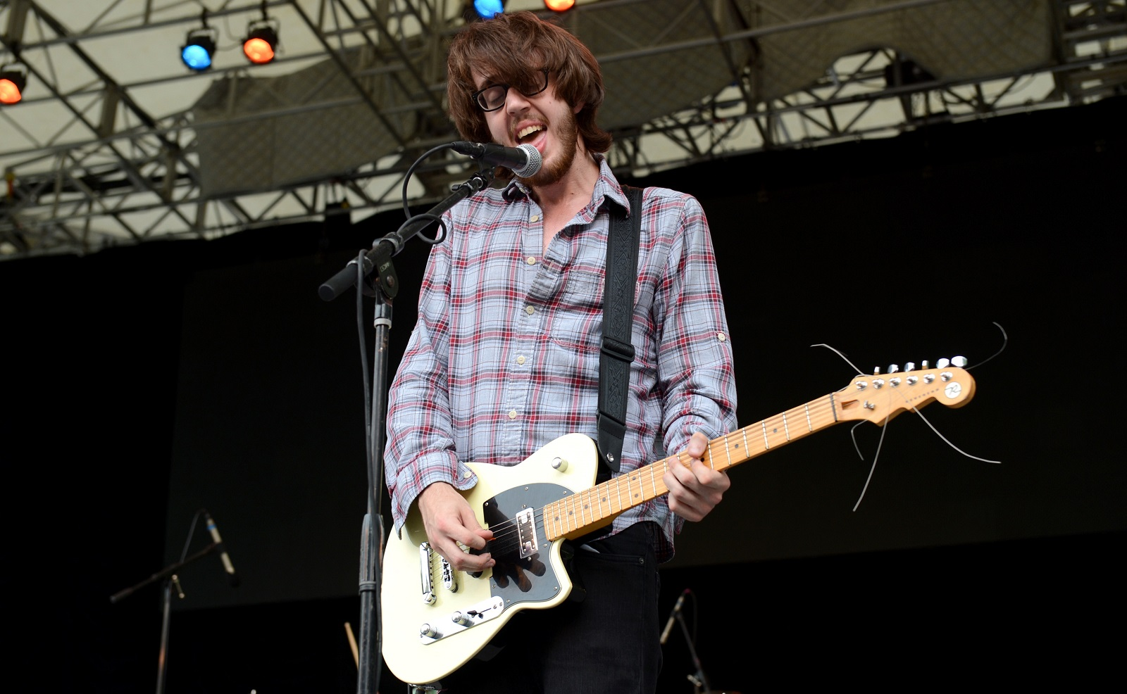 Dylan Baldi of Cloud Nothings performs in New York City in 2012. (Getty Images)