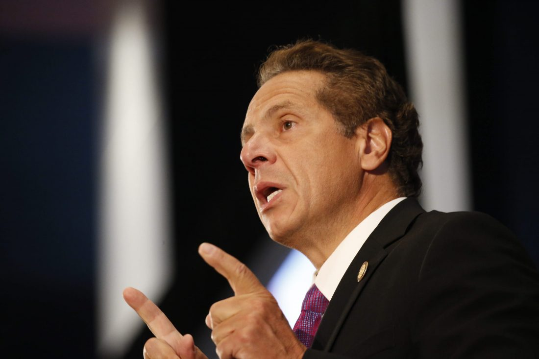 Gov. Andrew Cuomo has called for a Lyme disease summit this summer amid concerns that cases of Lyme disease have grown in recent years. (Derek Gee/News file photo)