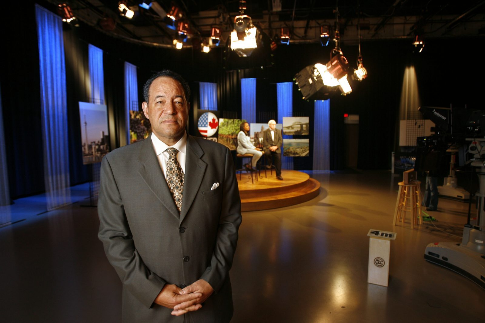 WNED President and CEO Donald K. Boswell (Derek Gee/Buffalo News)