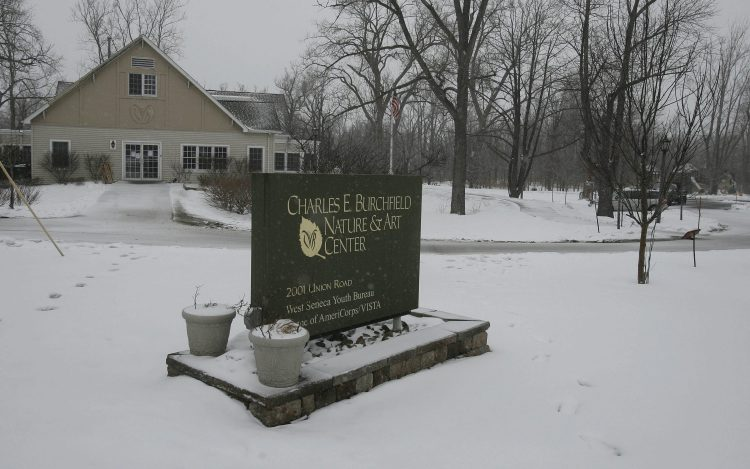 The Burchfield Nature and Art Center building is closed until further notice. (Mark Mulville/Buffalo News}