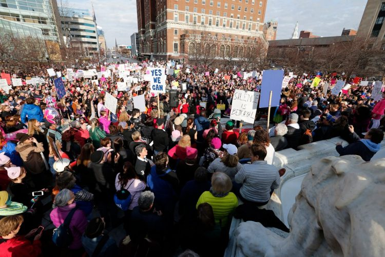 Buffalo's sister march to Women's March on Washington