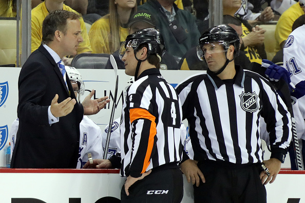 Tampa Bay coach Jon Cooper has been frustrated by injuries all season (Getty Images).