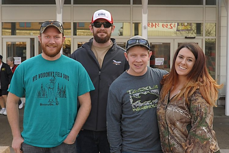 Smiles at the Greater Niagara Outdoor and Fishing Expo