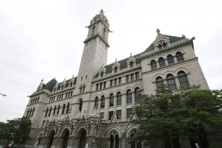 ECC's downtown campus.  (News file photo)