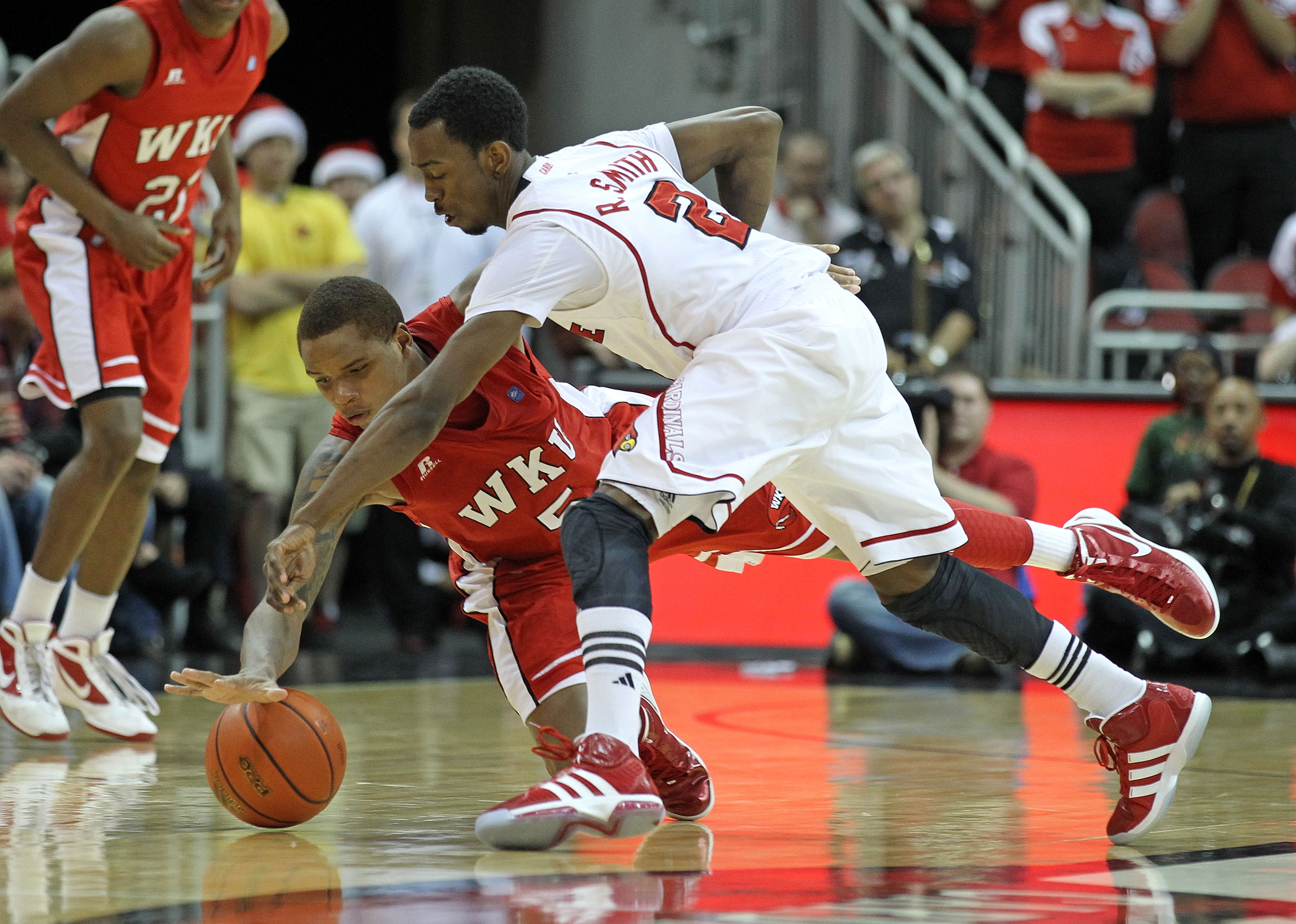 Russ Smith of Louisville became the fifth player to record eight steals in an NCAA Tournament game. (Getty Images)