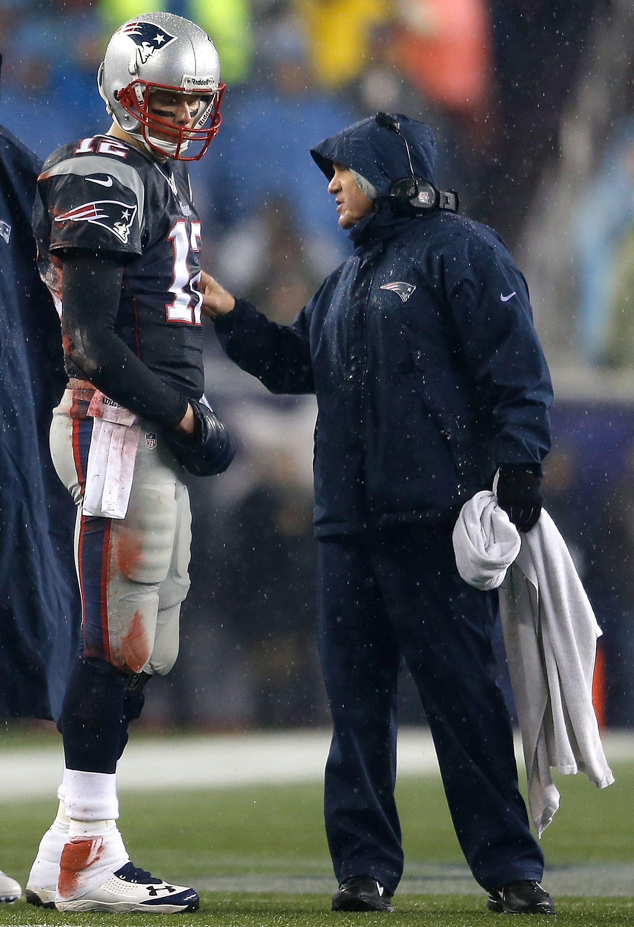 Tom Brady and Bill Belichick are the defining figures in the Patriots' dominance. (Getty Images)