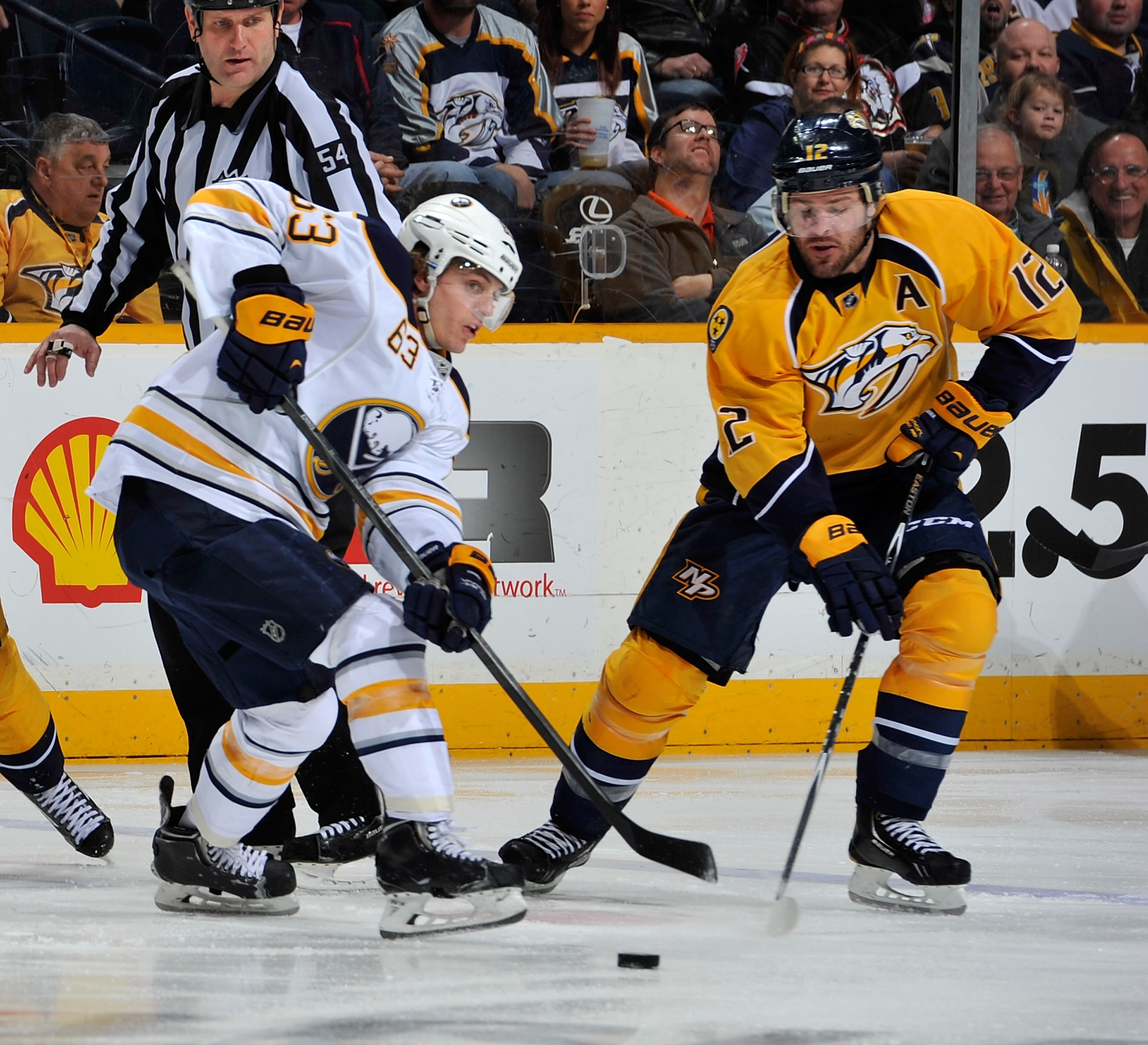 Tyler Ennis' mom will get to watch him play against Mike Fisher in Nashville.  (Getty Images)