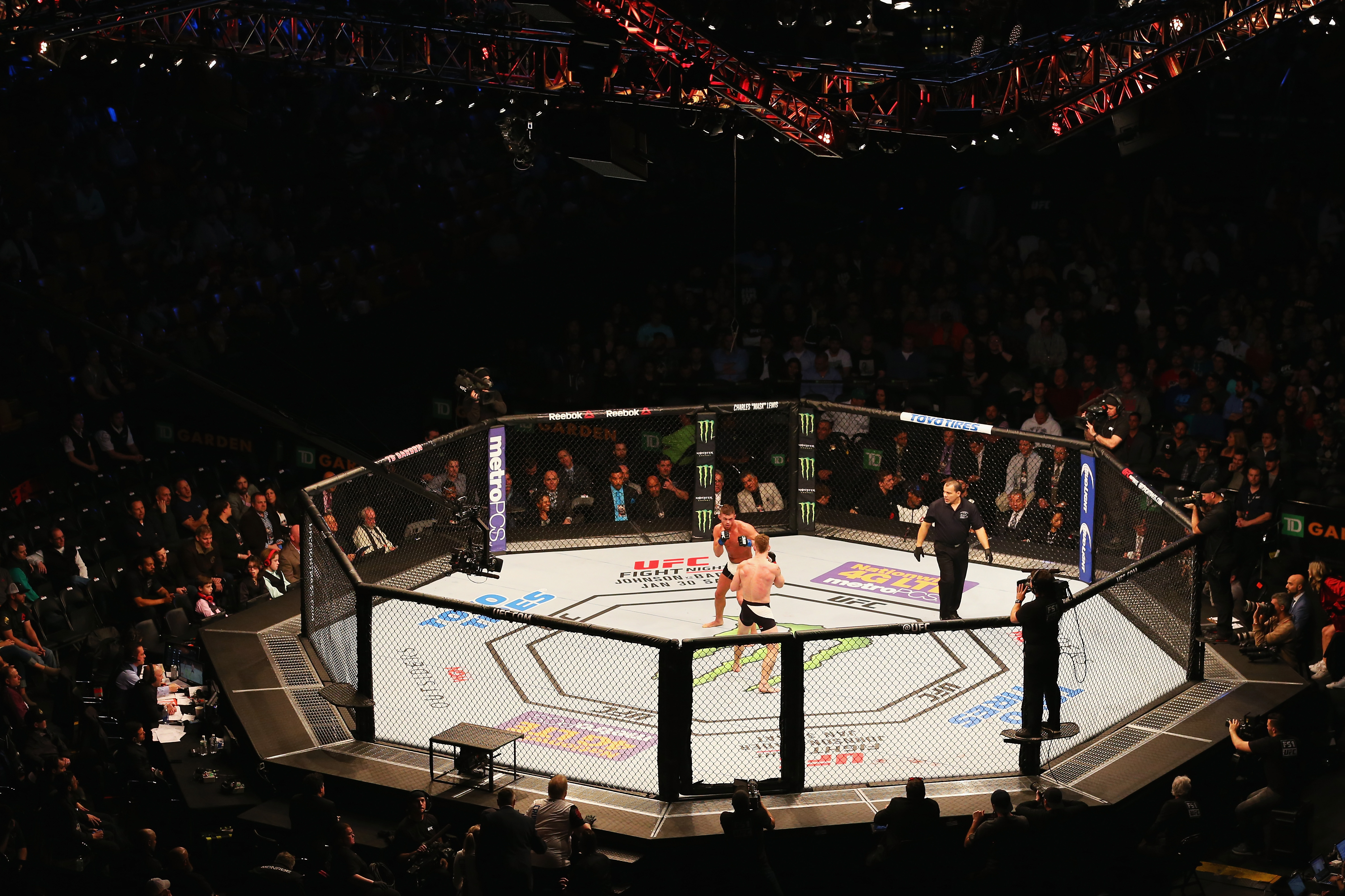 It's been a long time since an eight-sided ring has been set up in Buffalo for professional matches, but the wait ends in April. (Getty Images)