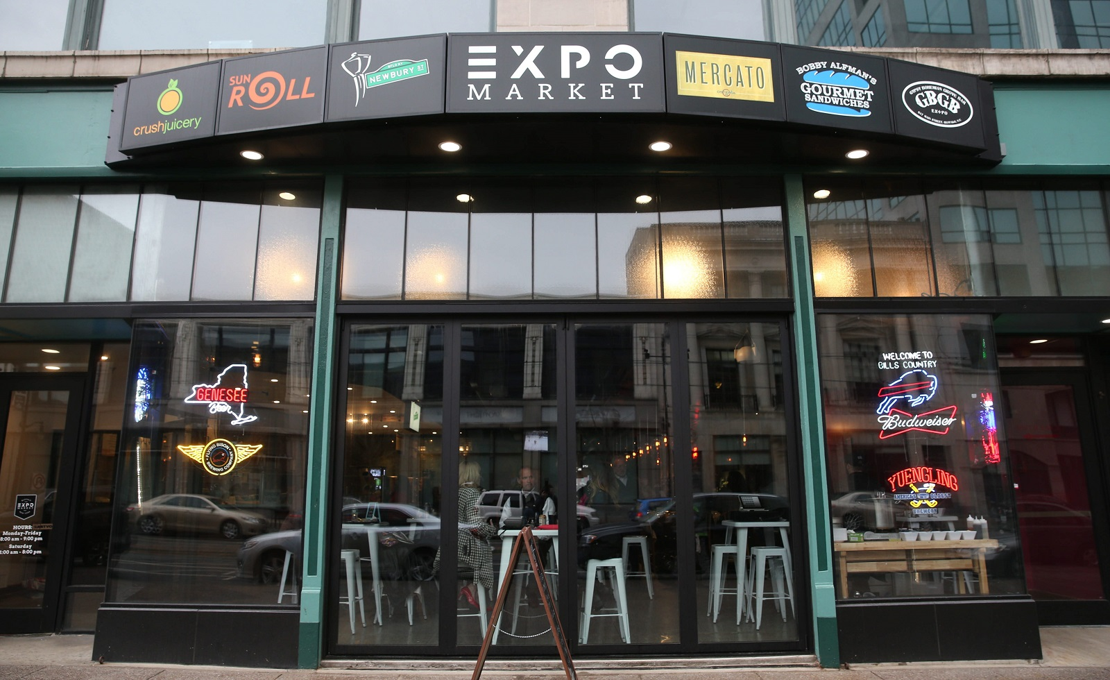 EXPO Market will add hot dogs and burritos as two operations join lineup. (Sharon Cantillon/Buffalo News file photo)