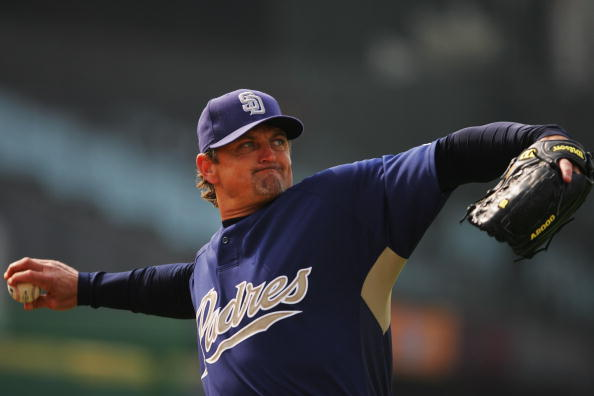 Trevor Hoffman missed the Hall of Fame this year by five votes (Getty Images).