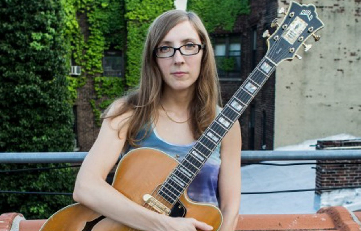 Mary Halvorson performed in the Albright-Knox Art of Jazz series.