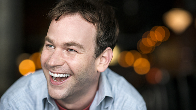"""Comedy star Mike Birbiglia has also directed two films, including last year's """"Don't Think Twice."""" (Photo by Evan Sung)"""