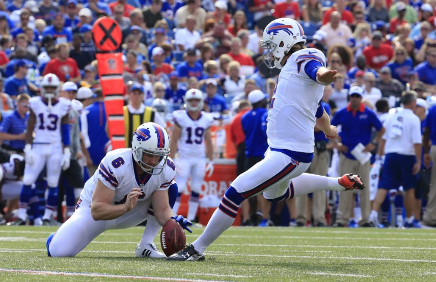 Former Bills kicker Dan Carpenter is getting a tryout with the Jaguars. (News file photo)