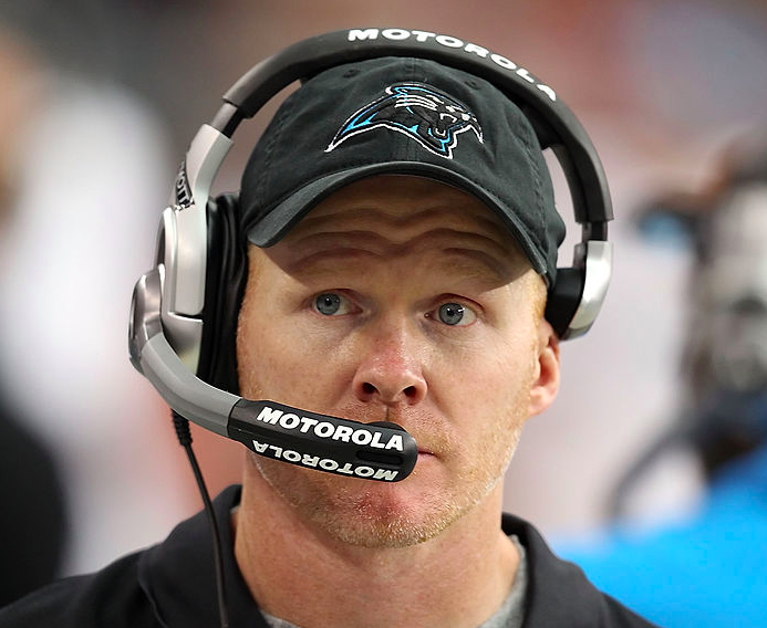 Former Panthers defensive coordinator Sean McDermott is the Bills new head coach. (Getty Images)