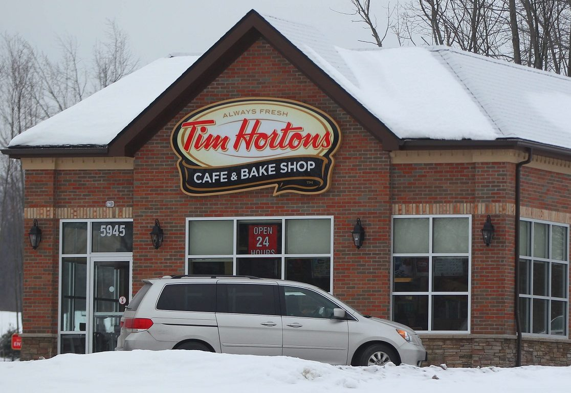Local Tim Hortons Coffee and Bake Shops are participating in the annual Rrroll up the Rim to Win. (Mark Mulville/News file photo)