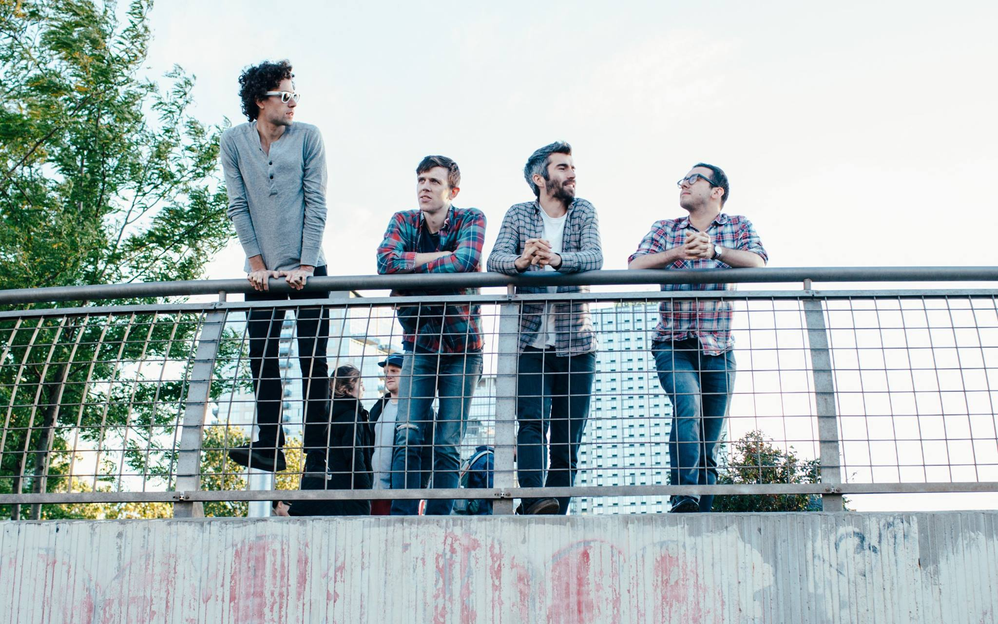 Canadian quartet Tokyo Police club will play the Waiting Room on Jan. 19.