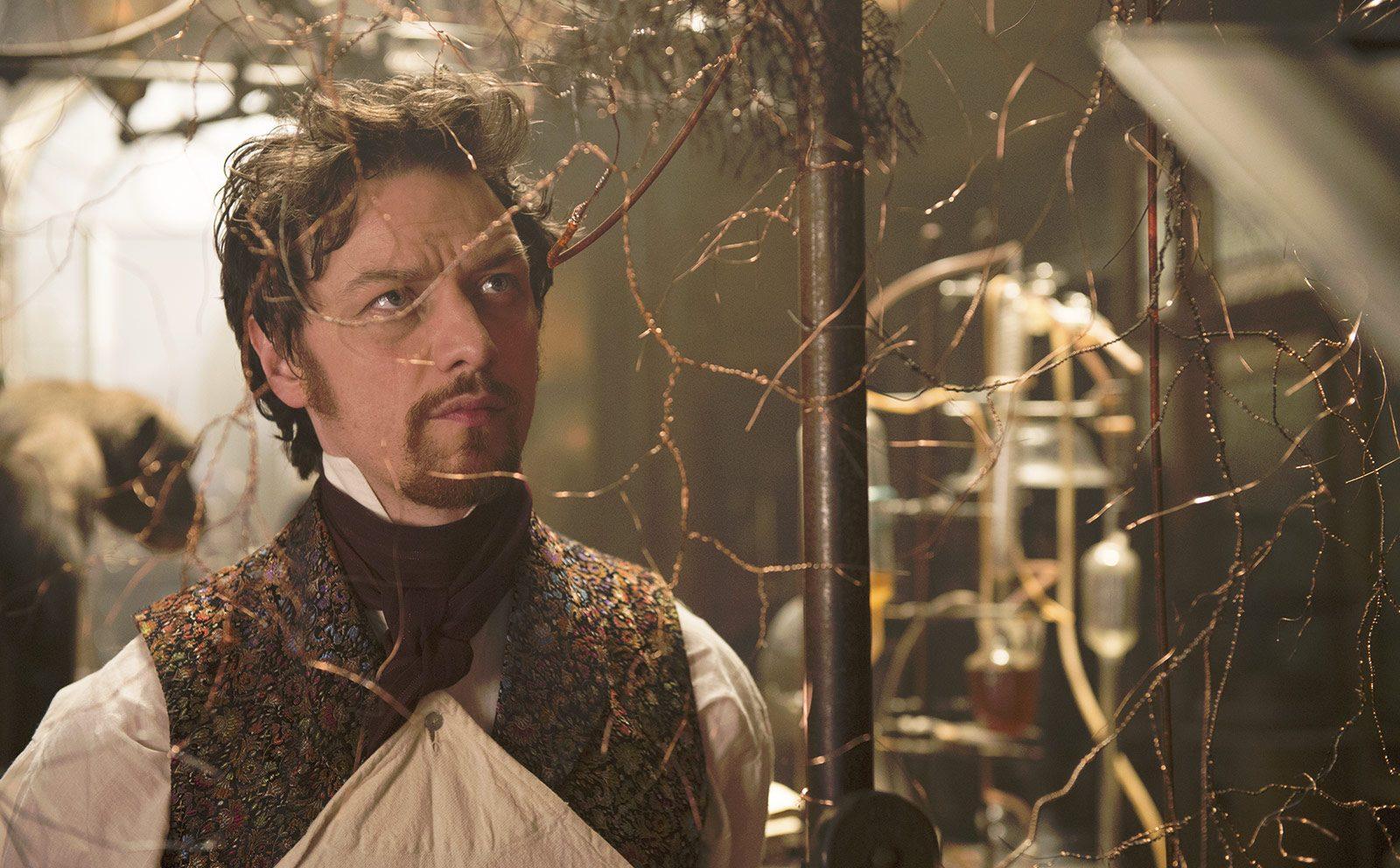 James McAvoy stars as 'Victor Frankenstein.'
