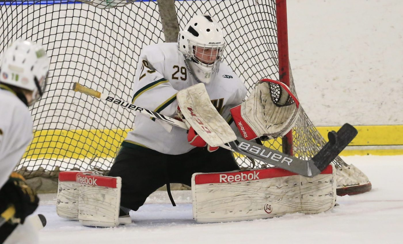 Canisius College's Jake Zurat spent his high school days in net for Williamsville North in high school. (Harry Scull Jr./Buffalo News)