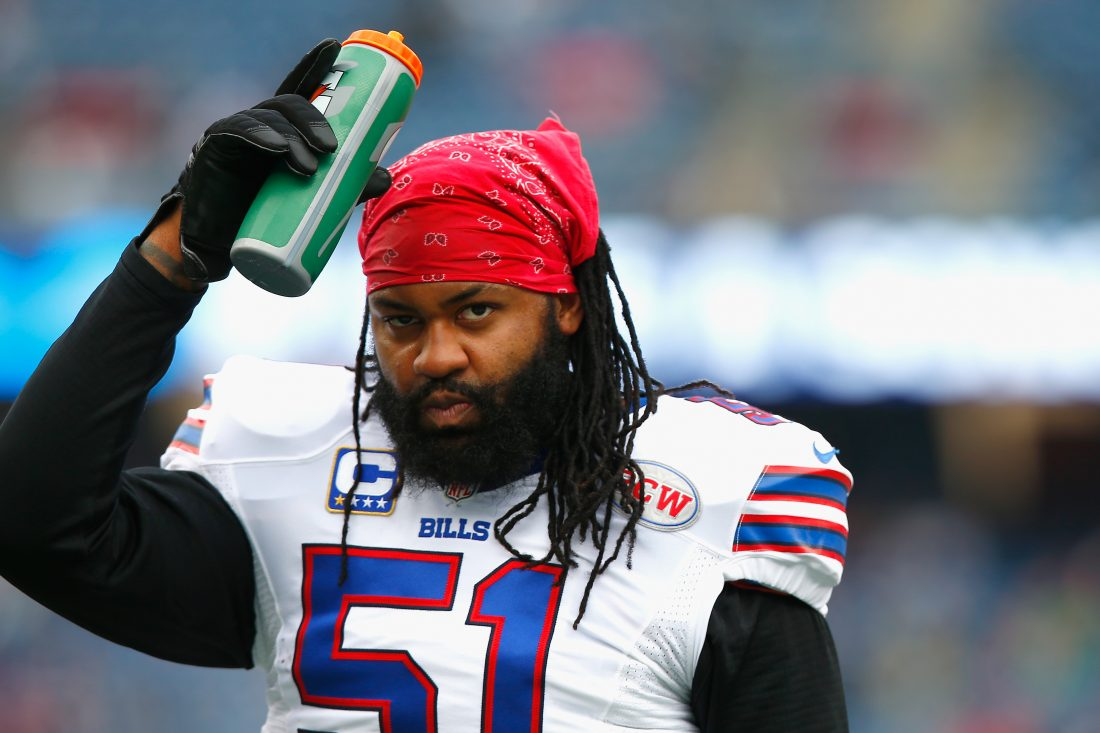 Brandon Spikes is involved in a financial dispute in court over his dead tropical fish.