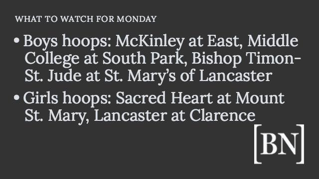 Homeroom Announcements: Monday's big games & more