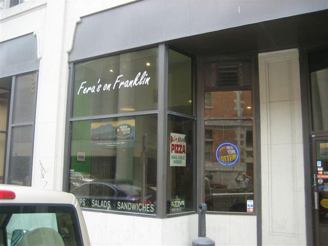 Fera's on Franklin will be moving next month. (Photo: Fera's)