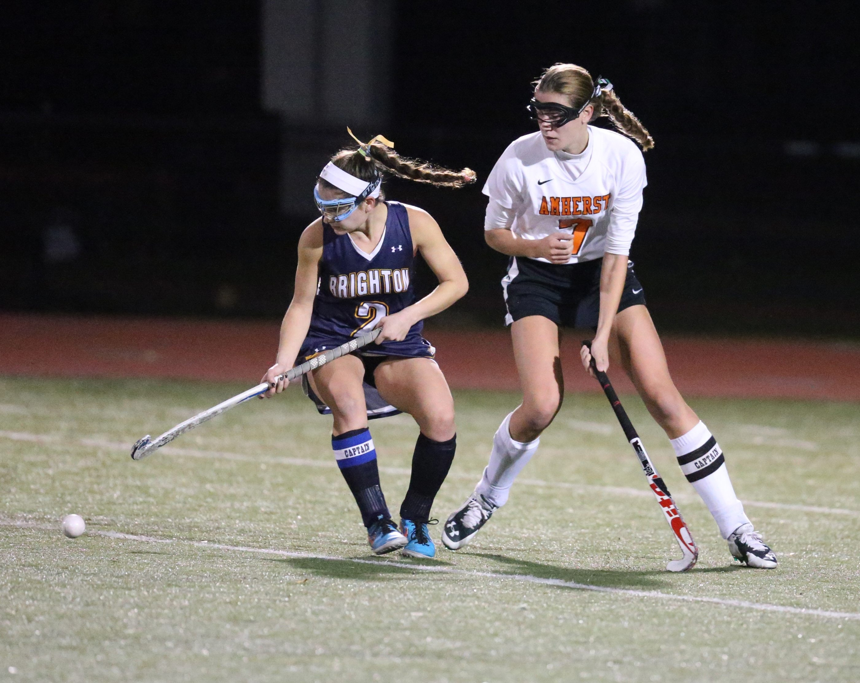 Should either Section VI's or Section V's field hockey champion reach the state semifinals, the winner won't have to travel far to participate in the state final four from 2018-20. (James P. McCoy/Buffalo News file photo)