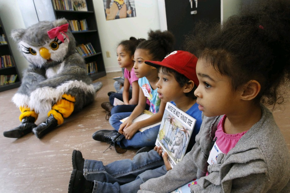 The kids are sure to have a ball, and maybe meet mascot Reada Book Owl, on Saturday during 'Take Your Child to the Library Day' across many of the 37 branches  of the Buffalo &  Library System. (Derek Gee/Buffalo News file photo)