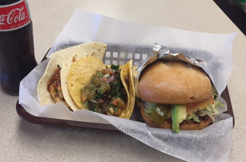 New Amherst Mexican offers taco-meat-stuffed sandwiches called tortas, plus tacos, burritos and more. (La Galera Express)