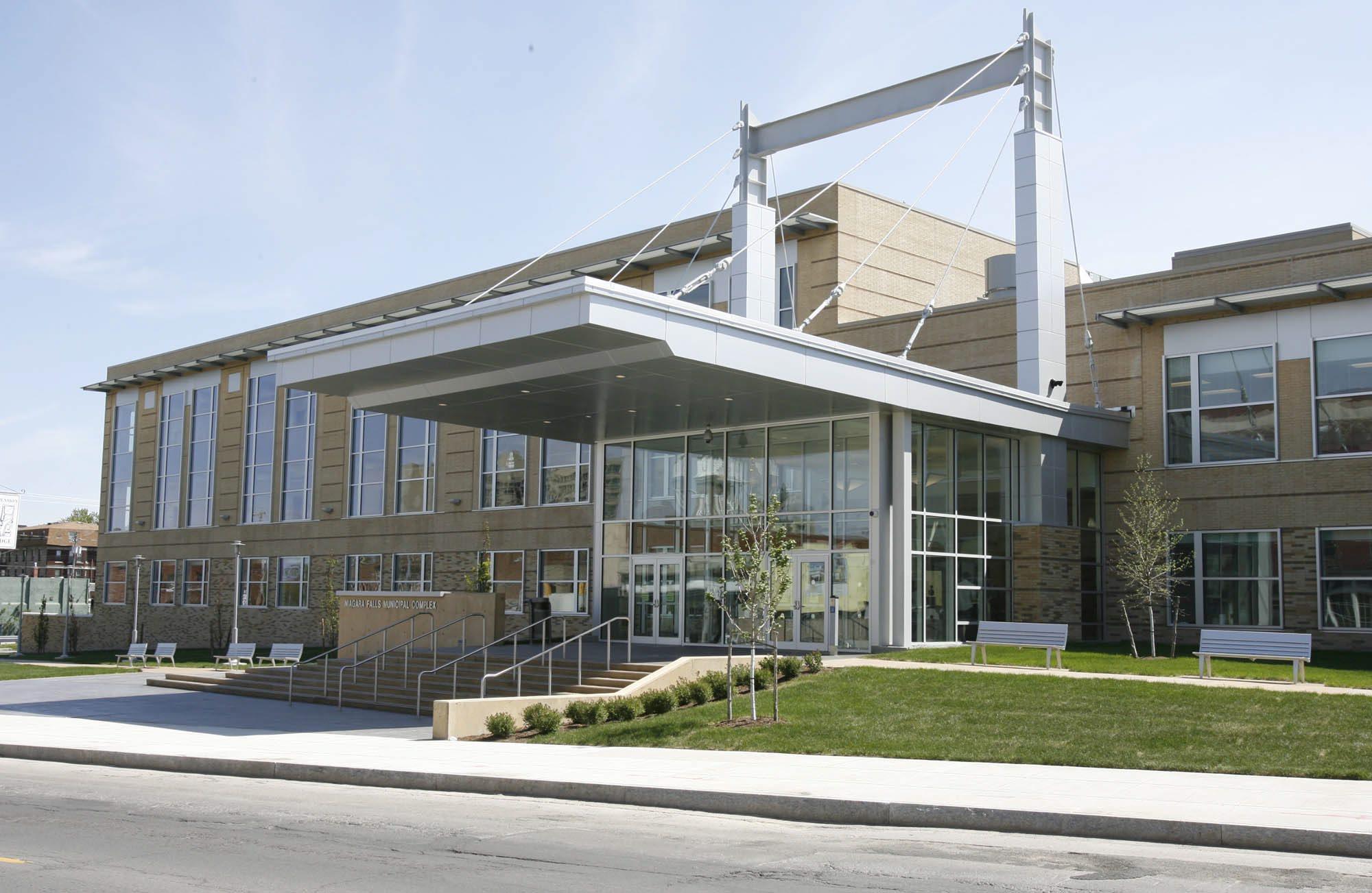 Niagara Falls Police headquarters  (Harry Scull Jr./The Buffalo News)