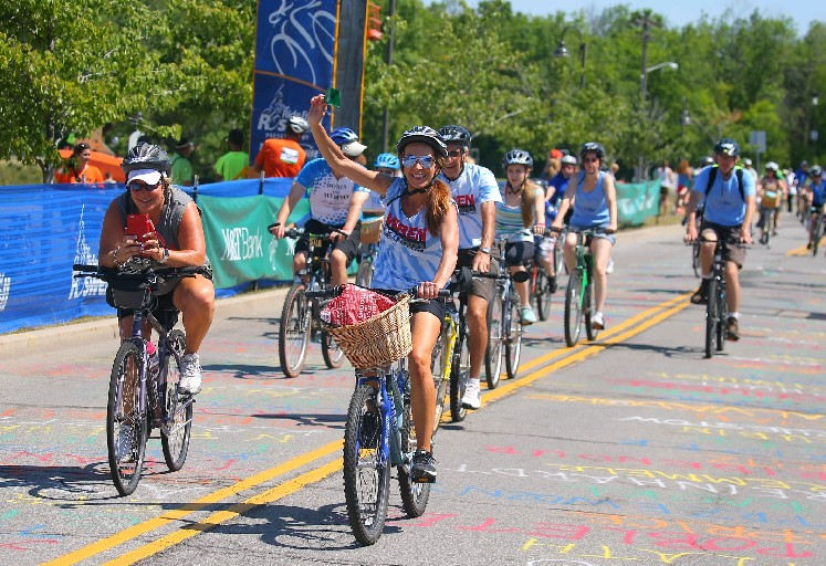 The Ride for Roswell has raised more than $38 million for Roswell Park Cancer Institute during the last two decades. (John Hickey/Buffalo News file photo)