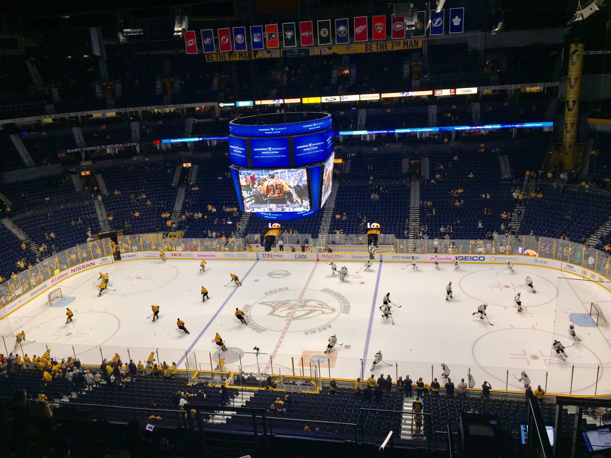 The Sabres face the Predators. (John Vogl/Buffalo News)