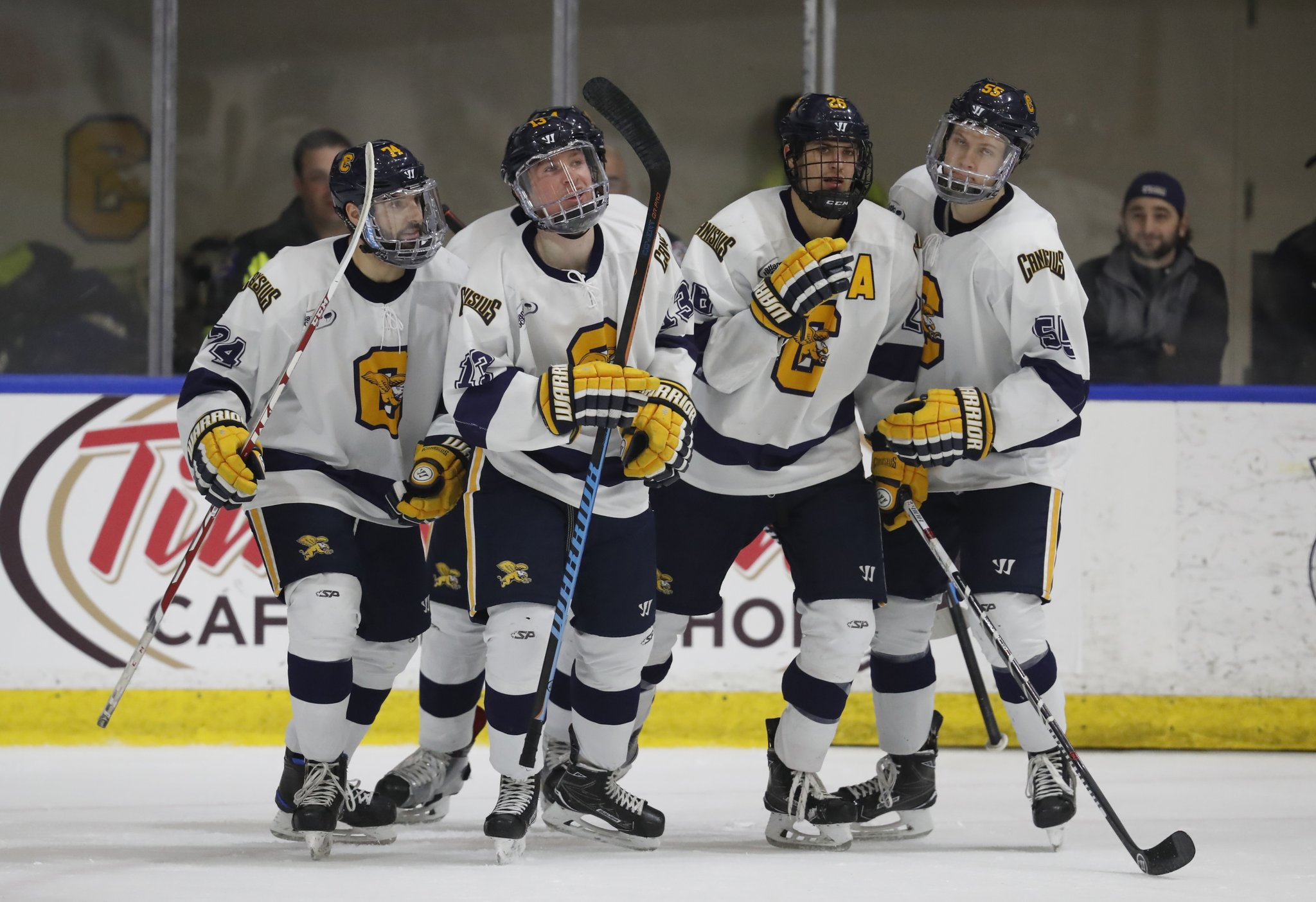 Canisius was picked fifth in the preseason Atlantic Hockey coaches poll. (Harry Scull Jr./Buffalo News)