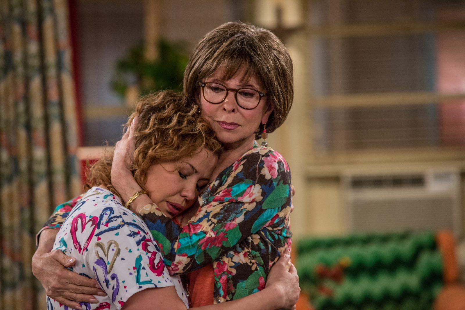 Justina Machado as Penelope and Rita Moreno as Lydia in Netflix's reimagining of Norman Lear's classic sitcom 'One Day at a Time.' (Michael Yarish/Netflix)